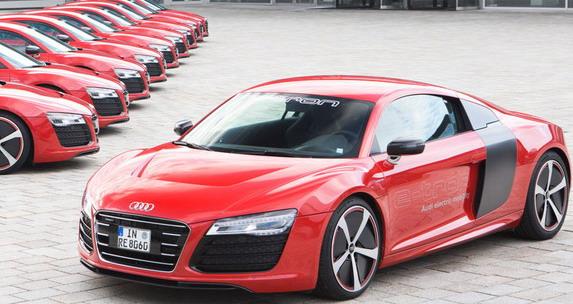 Audi uskoro predstavlja paletu električnih vozila