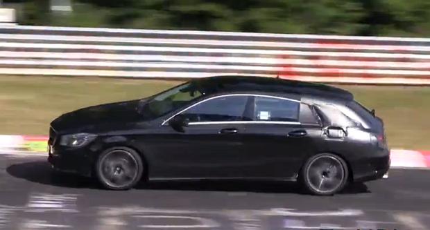 Spyvideo:Mercedes BenzCLA