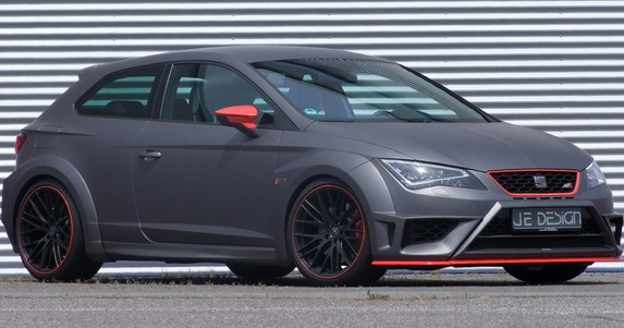 Seat Leon Cupra JE Design wide body kit
