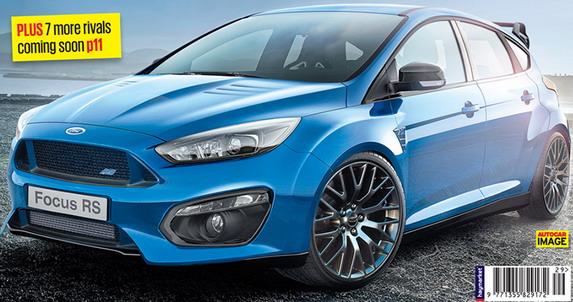 Pogledajte kako bi mogao da izgleda novi Ford Focus RS