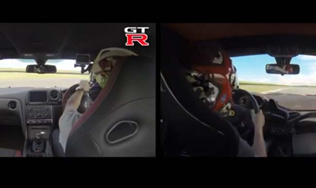 NissanGT RvsFerrariSpeciale&#;kojijebrži?