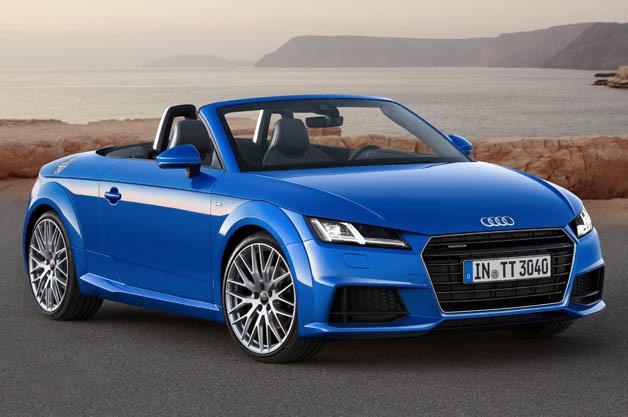 Audi će predstaviti novi TT Roadster u Parizu