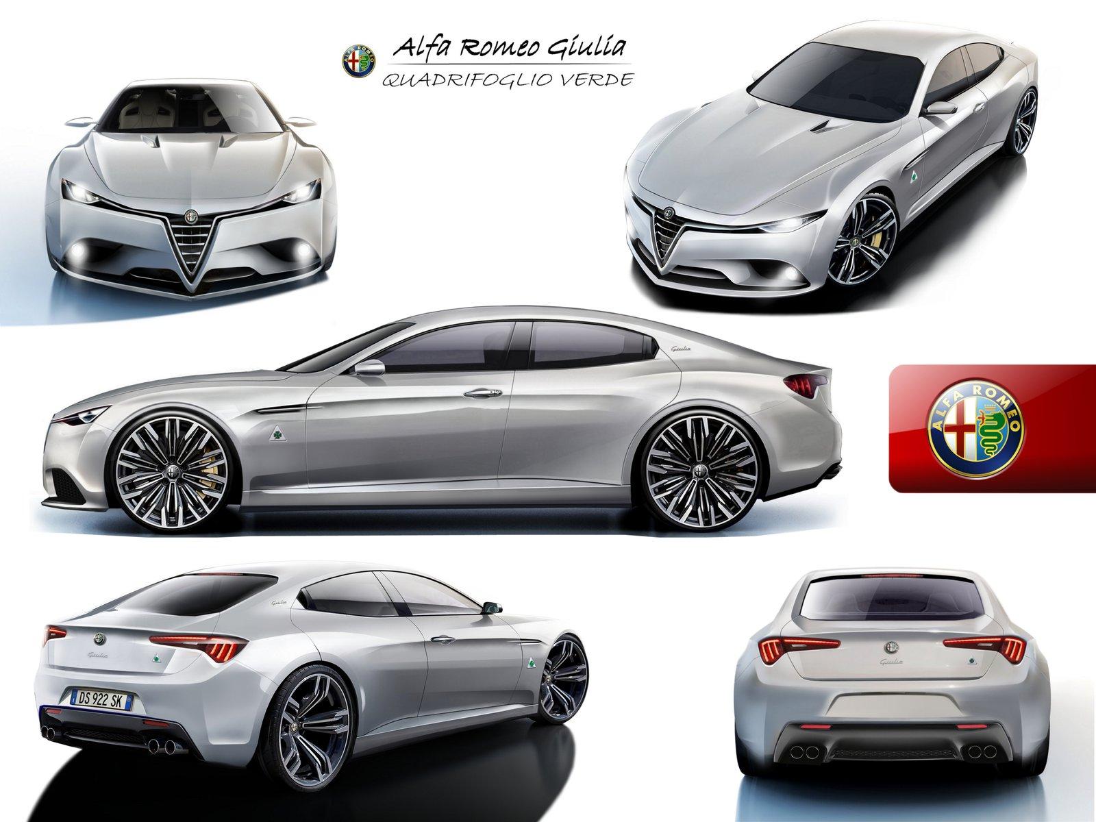 Procurele slike produkcijskog modela Alfa Romeo Giulia