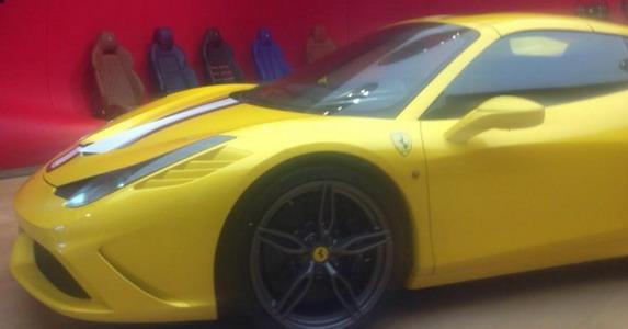 Ferrari Speciale Spider špijunske slike