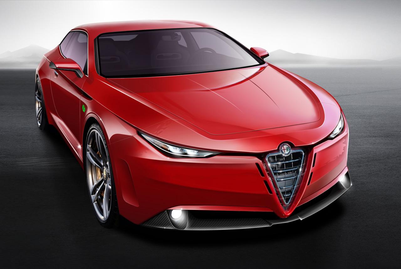 Novi render: Alfa Romeo GTV