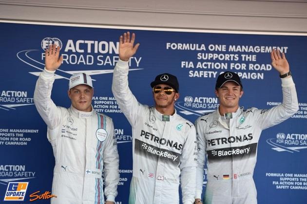 Botas Hamilton Rosberg Sochi