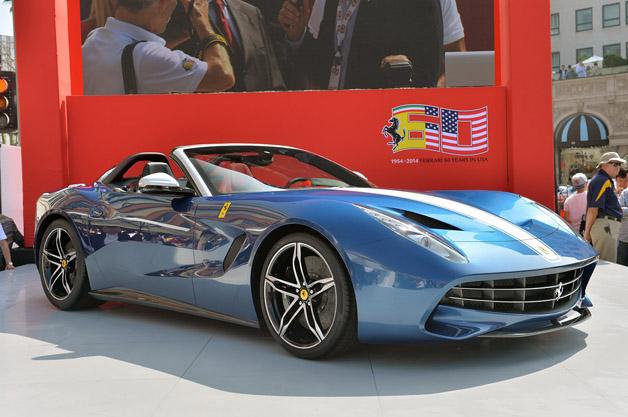 FerrariFsnimljenpoprviput