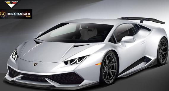 Lamborghini Huracan tunerske kuće Vorsteiner