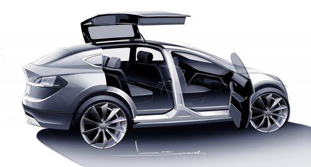 Uskoro Tesla Model X