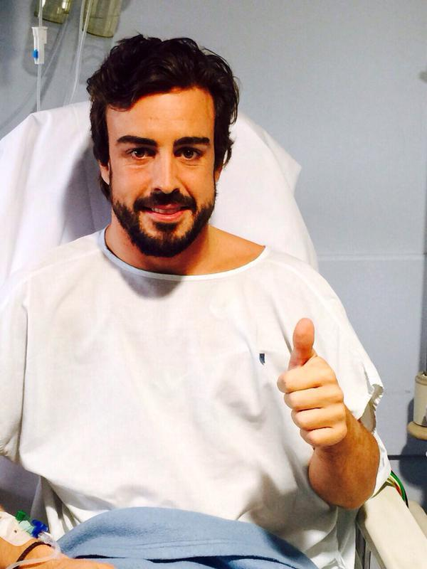 Zvanično saopštenje: Fernando Alonso je dobro