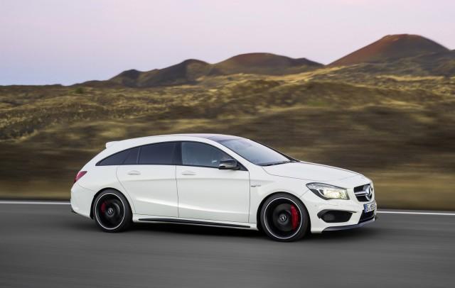 Test: Mercedes CLA Shooting Brake