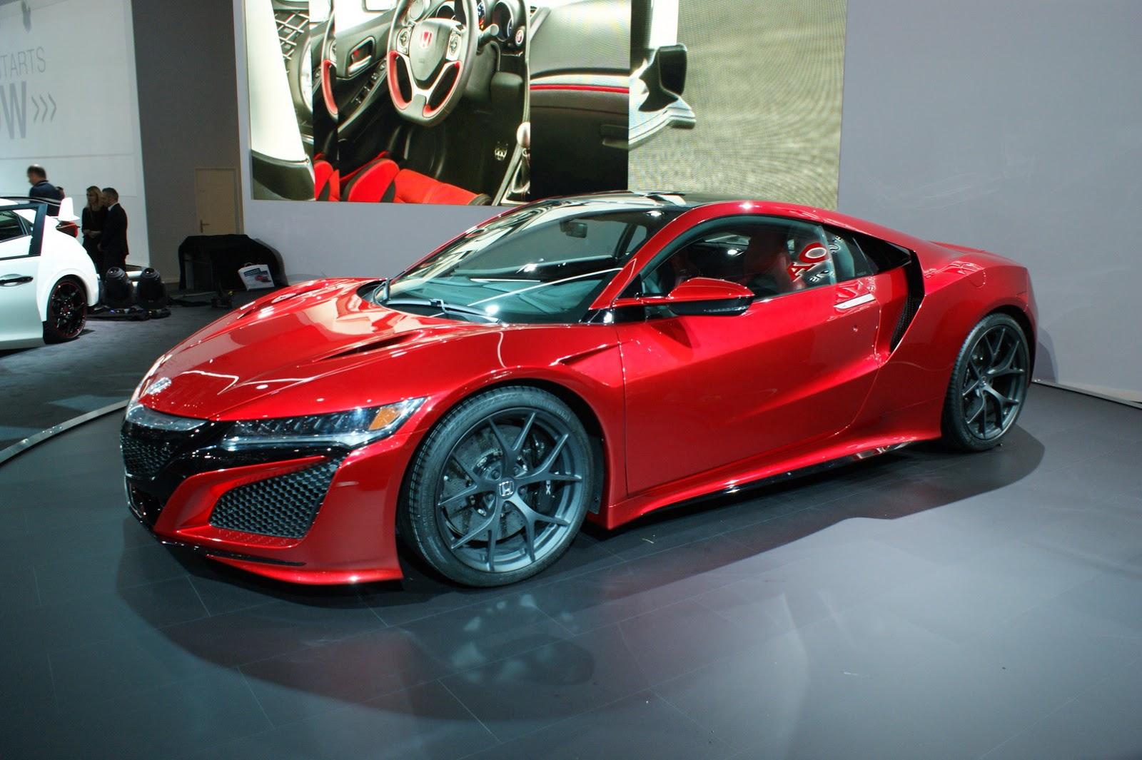 Ženeva: Predstavljena Honda NSX