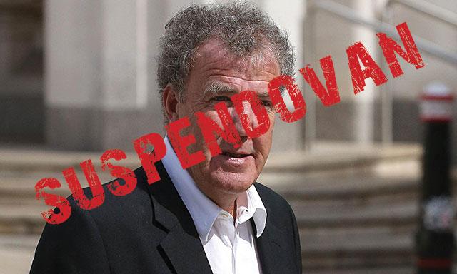 Zašto je Jeremy Clarkson suspendovan?