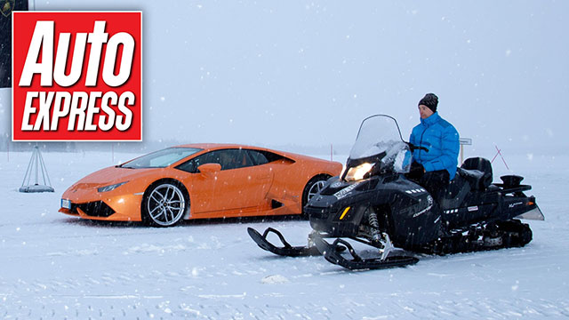 Video: Lamborghini Huracan vs Motorne sanke