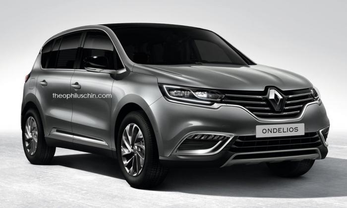 Renault Ondelios SUV renderi