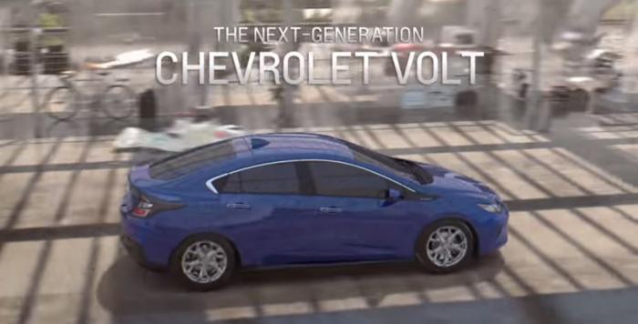 Promotivni video za Chevrolet Volt