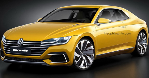 Moguć izgled novog Volkswagen Corrado