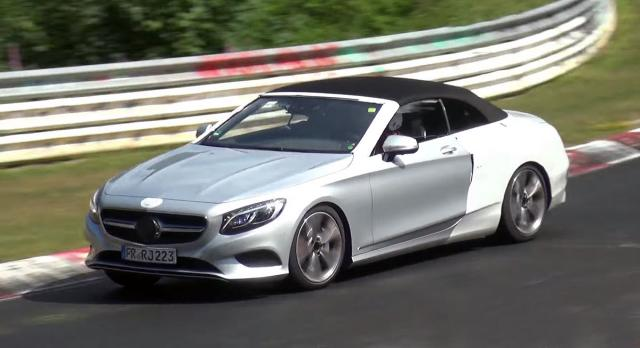 Mercedes S Class kabrio na NIrburgringu [Video]