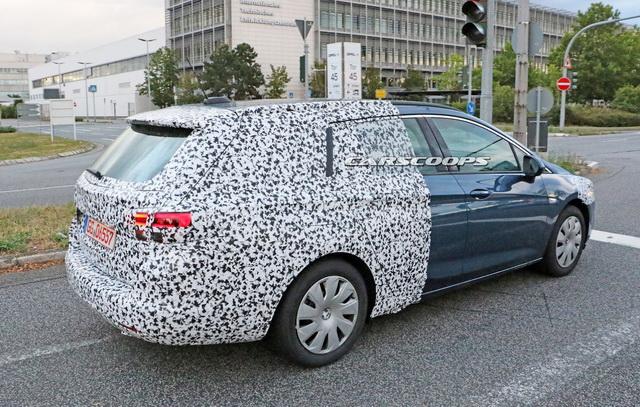 Nova Opel Astra Sports Tourer se pojavila na ulicama