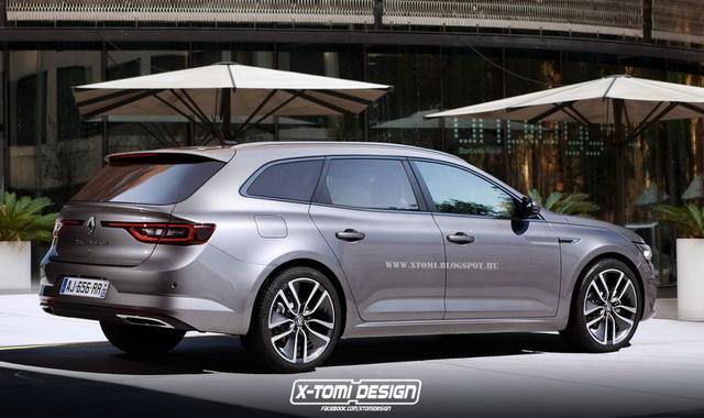 Renault Talisman karavan bi mogao ovako da izgleda