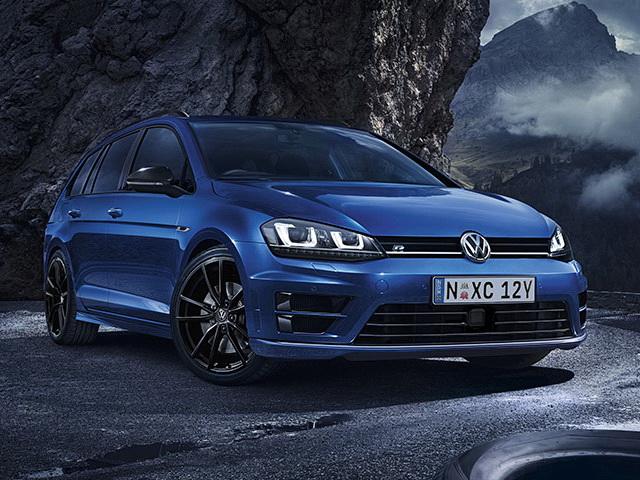 VW Golf R Wagon Wolfsburg Edition izgleda sjajno