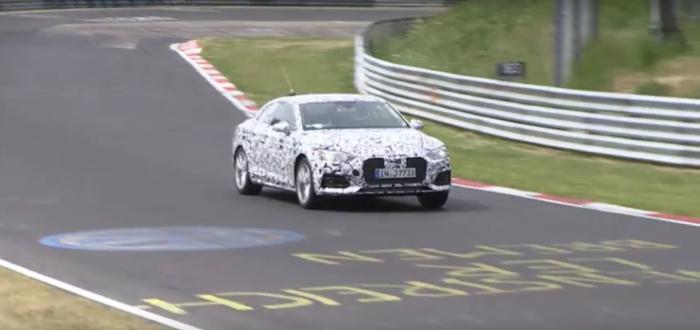NoviAudiAkupesnimljentokomtestiranjanaNürburgringu[VIDEO]