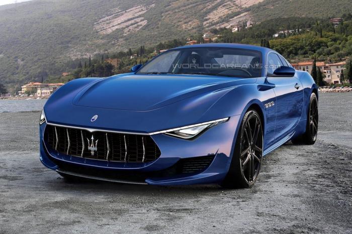 Moguć izgled produkcijskog Maserati Alfieri supersportskog automobila