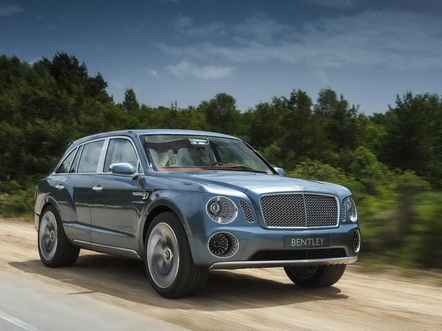 Bentley Bentayga promotivni video