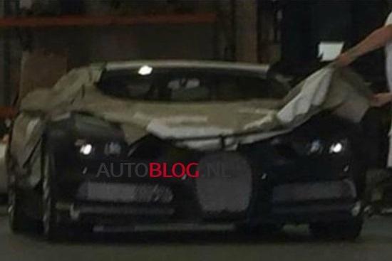 Špijunsko oko uhvatilo novi Bugatti Chiron
