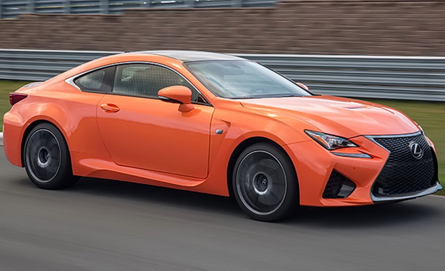 Test: Lexus RC F [Video]