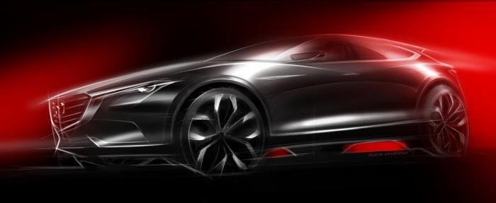 Mazda izbacila tizer sliku za Kodu crosover pred sajam automobila u Frankfurtu