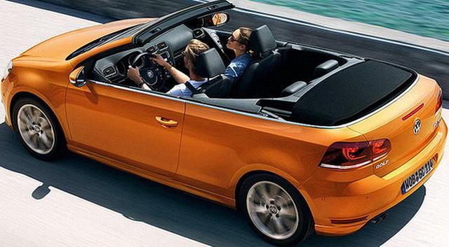 VW Golf Cabrio spreman za sajam u Frankfurtu