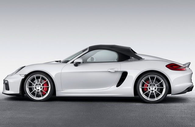 Test: Porsche Boxster Spyder [Video]