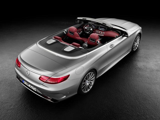 Prve zvanične slike S Class Cabrio modela