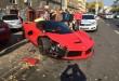 LaFerrari polupao parkirane automobile u Budimpešti