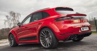 [Brutalan izgled] Porsche Macan sa Prior Design wide body kit-om