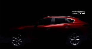 Mazda CX-4 nove tizer slike