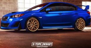 Potencialni izgled Subaru WRX STI