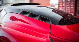 Zender prepravljena Alfa Romeo 4C izgleda vanzemaljski