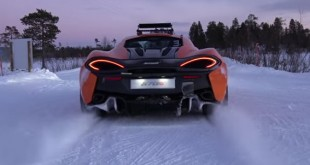 VIDEO: Bruno Senna driftuje sa McLaren 570S automobilom