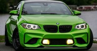 IND-ov BMW M2 Gelbgrun