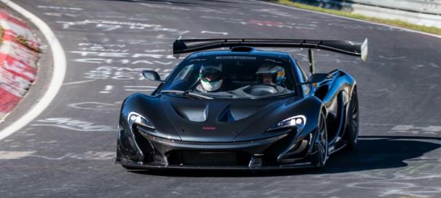 McLaren P1 LM-Nurburgring-1