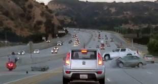 "VIDEO: Haos na autoputu nastao nakon ""šutiranja"""