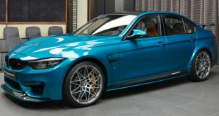 Abu Dhabi Atlantis Blue BMW M3
