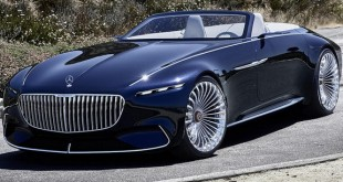 VIDEO: Vision Mercedes-Maybach 6 Cabriolet concept