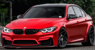 Novi modifikovani Satin Red BMW M3
