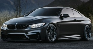 BMW-M4-Matte-Black-HRE-1