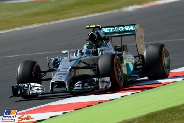 Rosberg najbrži na prvom treningu na Silverstonu