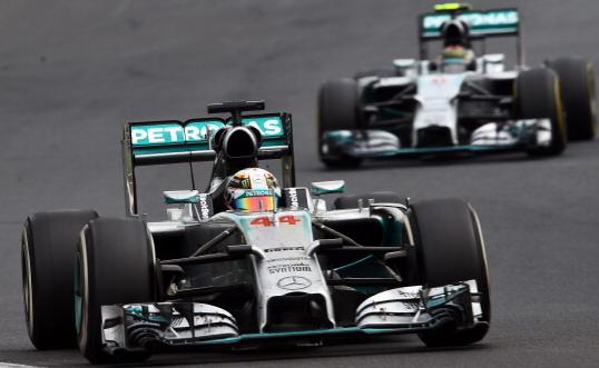 Mercedes besan na Hamiltona