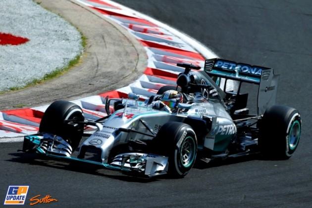 Hamilton Hungaroring